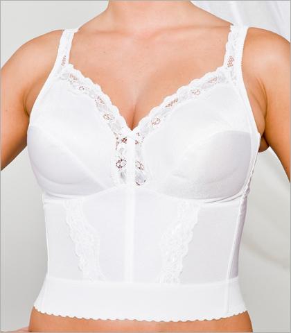 Carnival Long Line Lace Camisole Shoulder Longline Bra 773