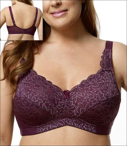 Elila Bra Soft Cup Stretch Lace Style 1607-PL