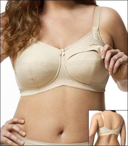 Elila Cotton Nursing Soft Cup Bra Style 1613-NU