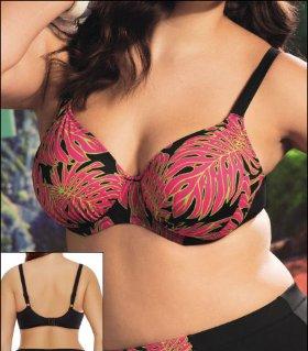 Elomi Rhapsody Underwire Gathered Bikini Top