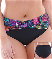 446858fad2d Elomi Kaleidoscope Swimwear Bottom Brief Style 7430