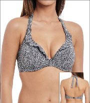 Freya Drift Away  Bikini Top Underwired Banded Halterneck 4047 Womens Swimwear