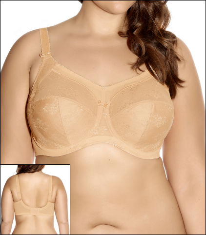 Goddess Alice Underwire Full Cup Bra Style GD6041-NUE