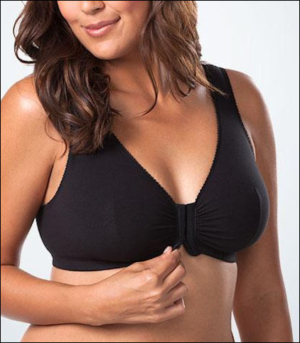 Leading Lady Cotton Front Closure Leisure Bra Style 110