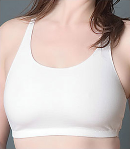 Leading Lady Cotton and Spandex Seamless Softcup Bra 514