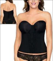 12236263b Parfait Elissa Low Back Bustier Style P5017-BLK
