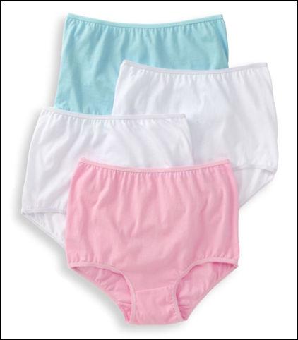 Teri Everyday Comfort Cotton Brief Style 122-4pk