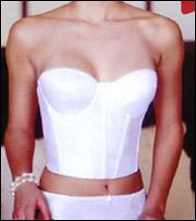 67f8deaa50 Va Bien Brides Backless Strapless Molded Long Line Bustier 506